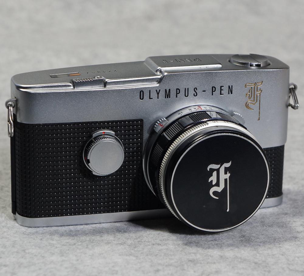 オリンパス ペンF ハーフサイズ フィルム一眼レフカメラ OLYMPUS PEN-F 【美品】