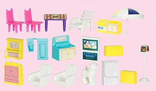 ★ Alnair ★ おままごと 2階建て 煙突のある お家 女の子 おもちゃ 知育玩具 ドールハウス 即決_画像3