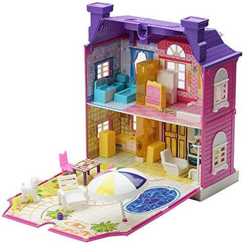 ★ Alnair ★ おままごと 2階建て 煙突のある お家 女の子 おもちゃ 知育玩具 ドールハウス 即決_画像1