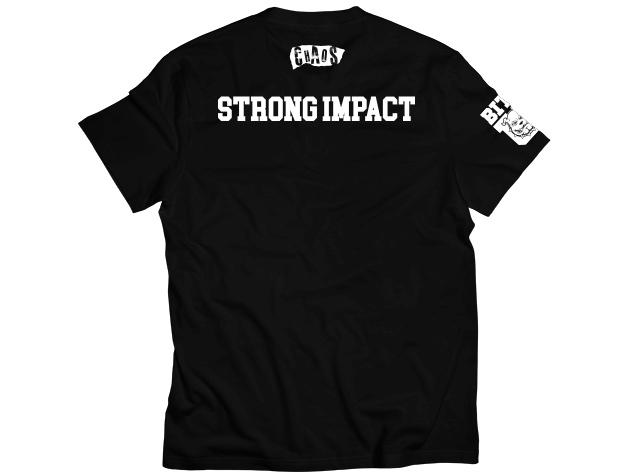 新日本プロレス CHAOS 石井智宏 【STRONG IMPACT】Tシャツ Sサイズ_画像3
