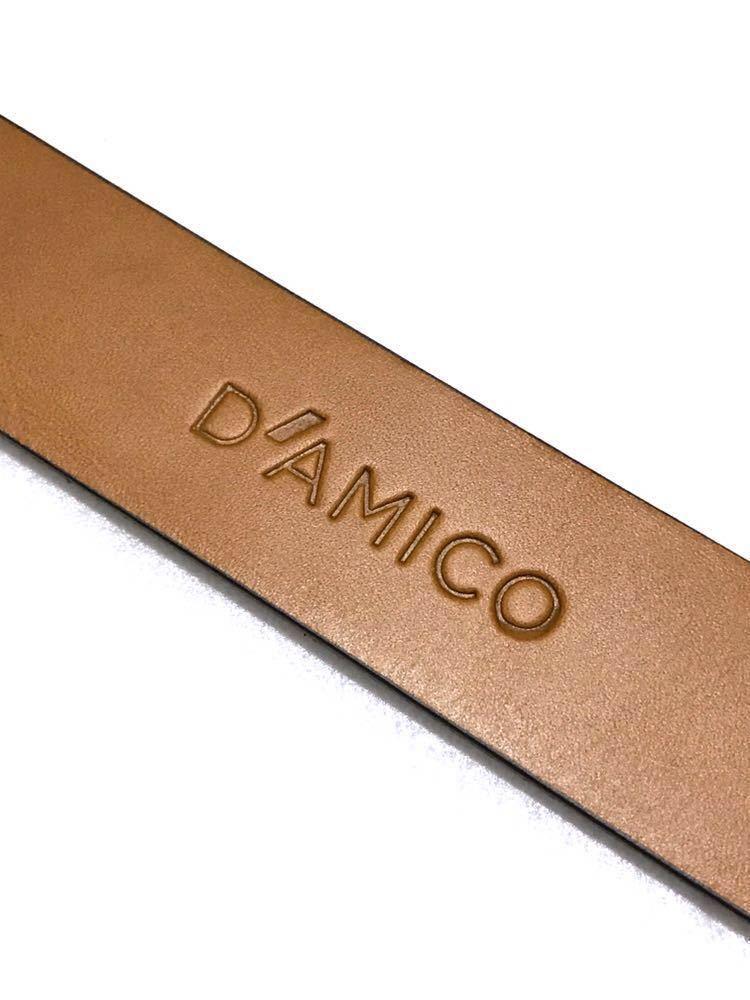 【新品】Andrea D'AMICO アンドレアダミコ レザー リング ベルト ACU2113 ダミコ_画像3