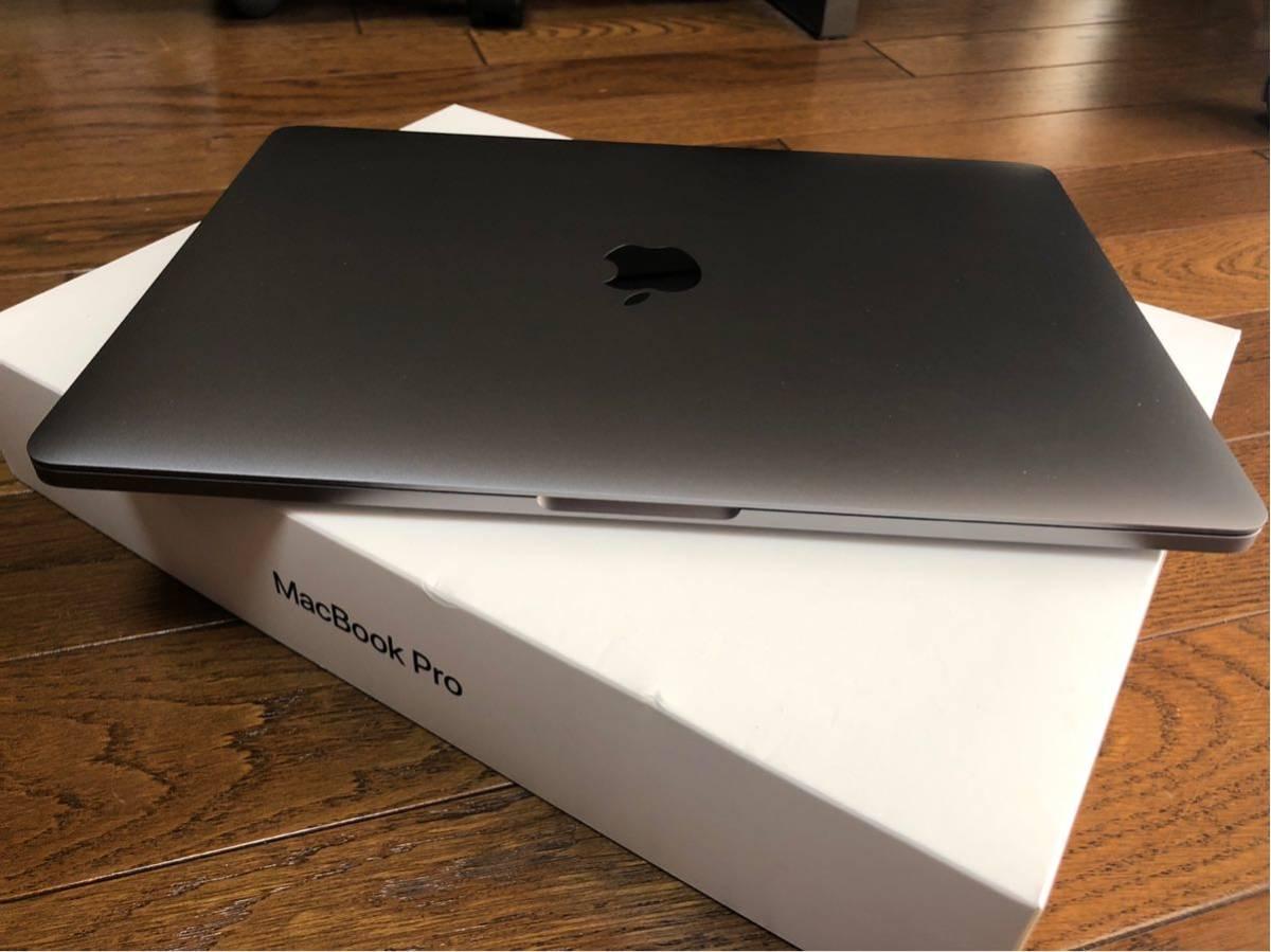 使用感浅、美品1円~!Apple MacBook pro TouchBar 2016 スペースグレー13インチ MLH12J/A Core i5 8GB 256GB_画像4