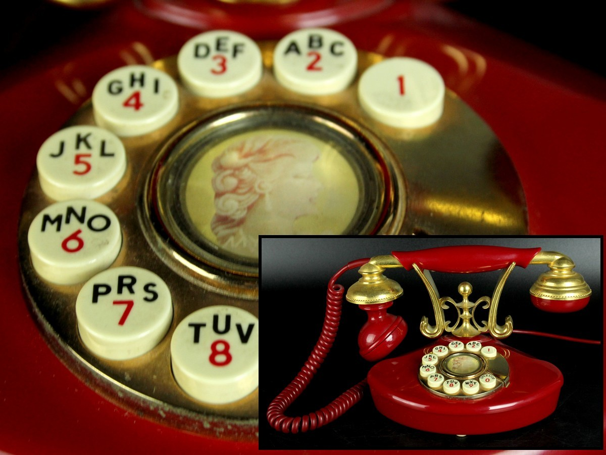 田村電機製作所 アンティークテレフォン ヴィンテージ電話機 レトロ (l)2 1Acb43.2