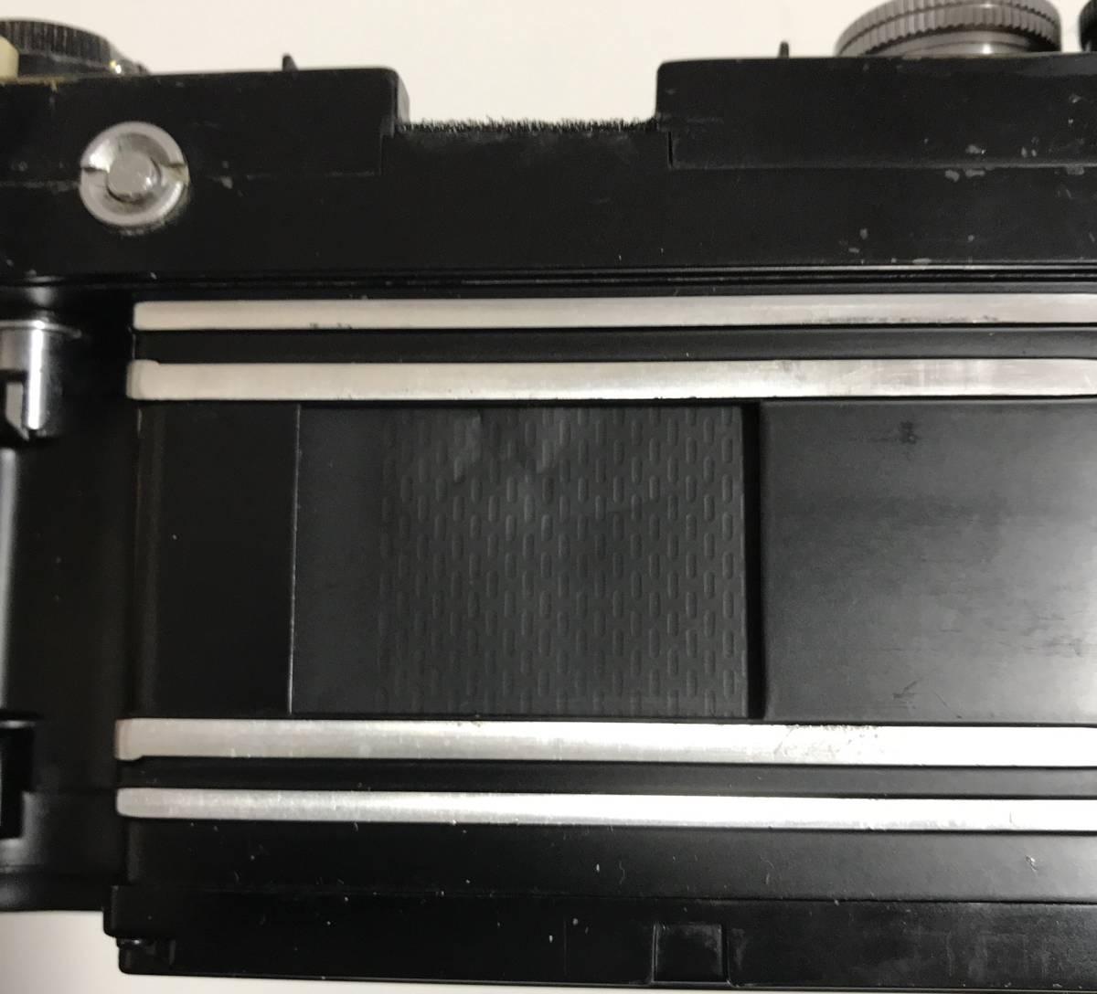 珍品 Nikkor F★ニッコールF ブラック(ファインダーなし)★ニコンFのドイツ輸出用★キィートスでオーバーホール済み_画像4