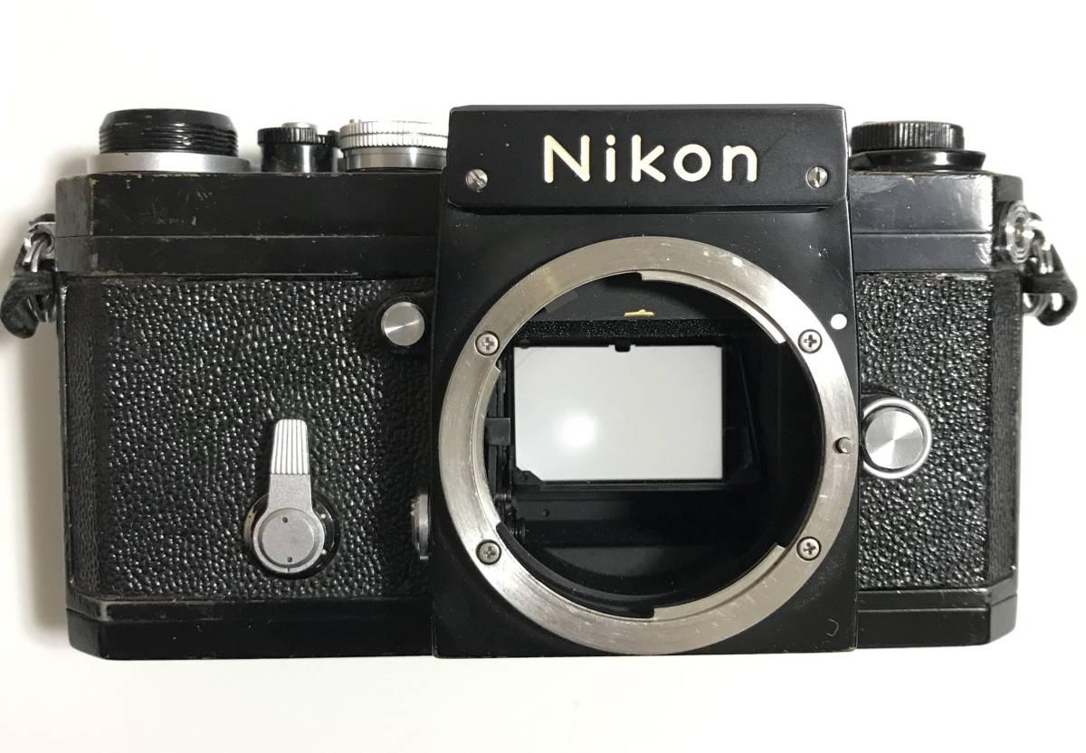 珍品 Nikkor F★ニッコールF ブラック(ファインダーなし)★ニコンFのドイツ輸出用★キィートスでオーバーホール済み_画像2
