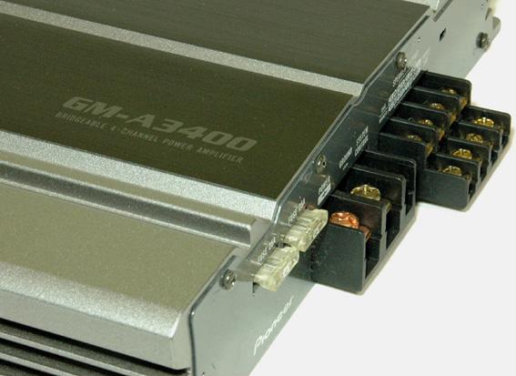 carrozzeria/4ch(300W×2ch)パワーアンプ【GM-A3400】/管YPO_画像6