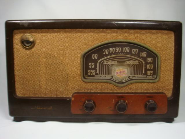 昭和レトロ ゼネラル真空管スーパーラジオ 八歐無線株式会社 ♪鳴ります♪ 格安!