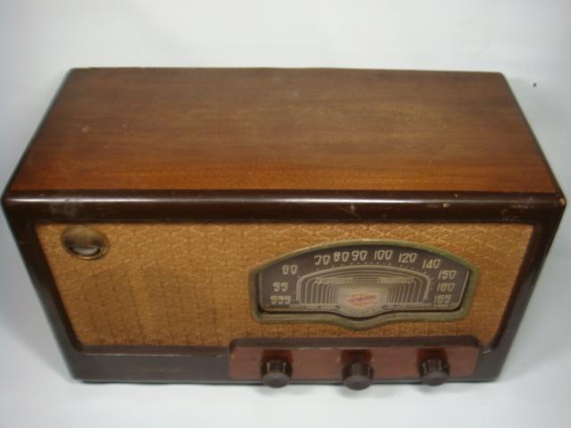 昭和レトロ ゼネラル真空管スーパーラジオ 八歐無線株式会社 ♪鳴ります♪ 格安! _画像2