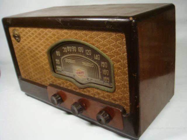 昭和レトロ ゼネラル真空管スーパーラジオ 八歐無線株式会社 ♪鳴ります♪ 格安! _画像4