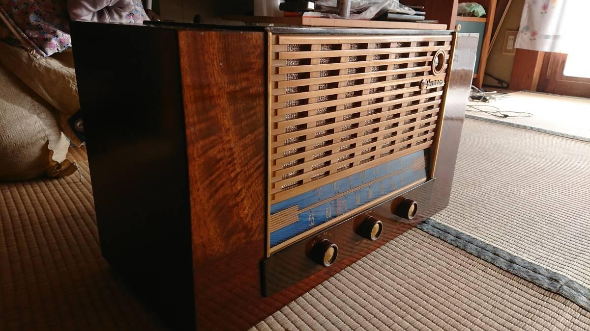 ビクター真空管ラジオ・綺麗です・普通に鳴ります・可動品_画像2