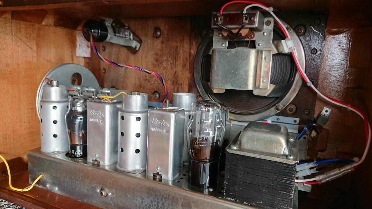 ビクター真空管ラジオ・綺麗です・普通に鳴ります・可動品_画像8