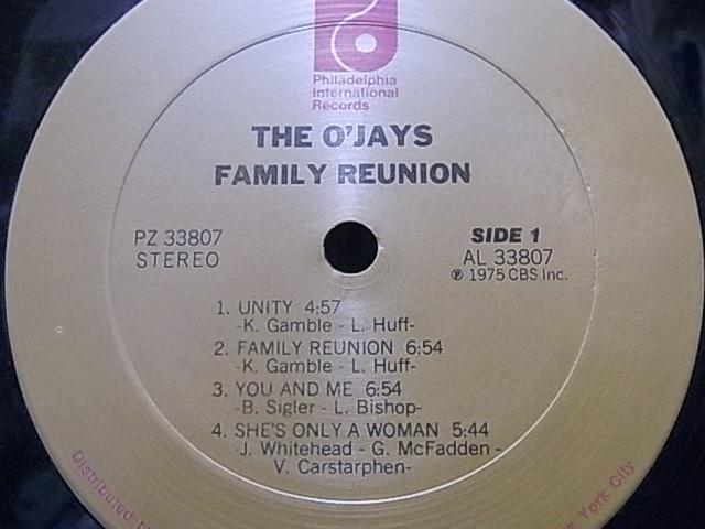 ◎オリジナルUS盤◎The O'Jays / Family Reunion / アルバム_画像2