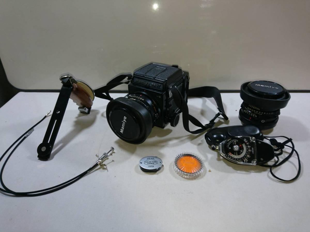 (5)Mamiya マミヤ RB67 カメラ レンズ SEKOR 1:3:8 f=90mm 1:3:8 f=127mm 露出計付き_画像1