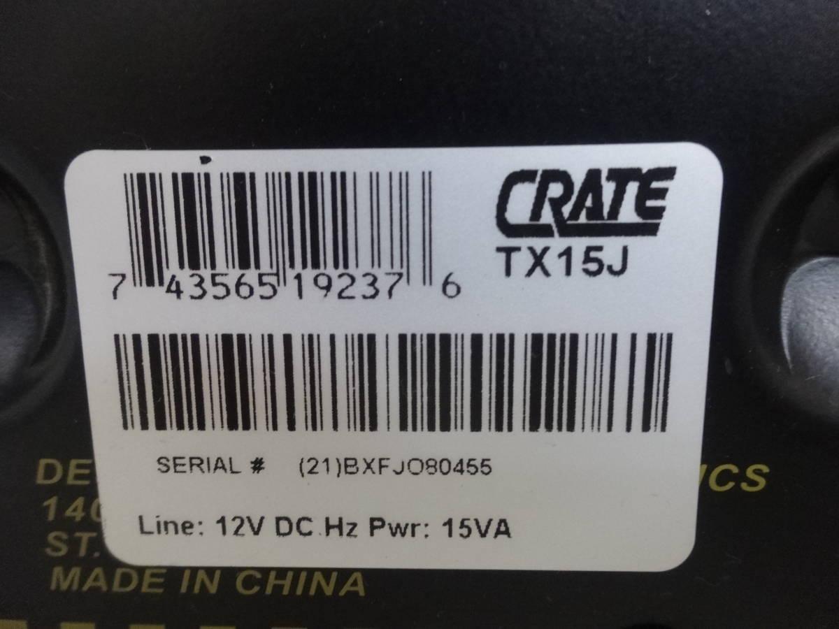 1269★ CRATE/クレイト バッテリー TX15J 現状品_画像10