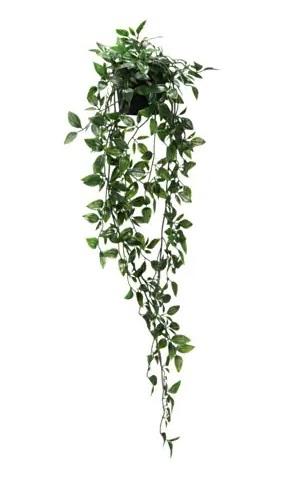 ☆ IKEA イケア ☆ FEJKA フェイカ 人工観葉植物, 室内/屋外用, つり下げ型 植物、造花 <植木鉢の直径9cm 植物の高さ70cm> 送料510円~2h_画像1