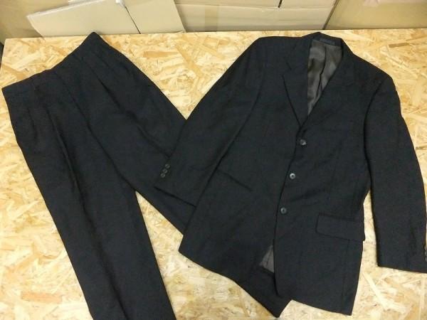 GIORGINI ジョルジーニ メンズ ウール100% シングルスーツ フォーマル ビジネス ジャケット スラックス 茶