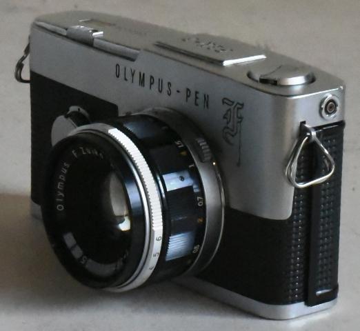 Olympus オリンパス Pen F ◆レンジファインダーカメラ◆F.Zuiko Auto-S 38mm f1.8◆完動、美品◆19-01-19-16_画像4