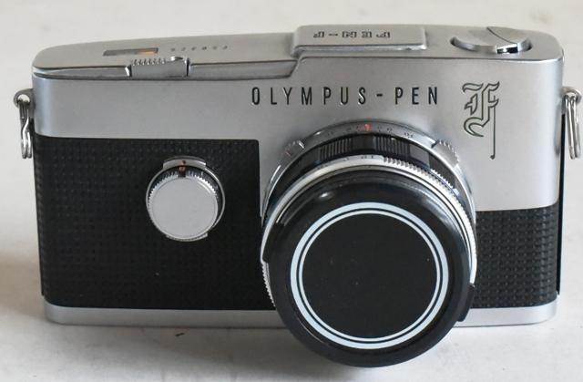 Olympus オリンパス Pen F ◆レンジファインダーカメラ◆F.Zuiko Auto-S 38mm f1.8◆完動、美品◆19-01-19-16