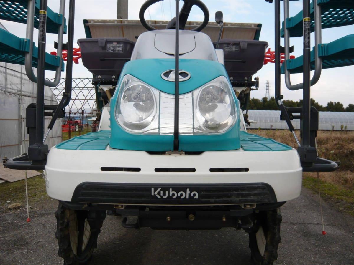 滋賀発 クボタ 久保田 田植機 乗用 5条 ロータリー SPU500 施肥  4WD パワステ 肥料 HST ノーパンク ドライ