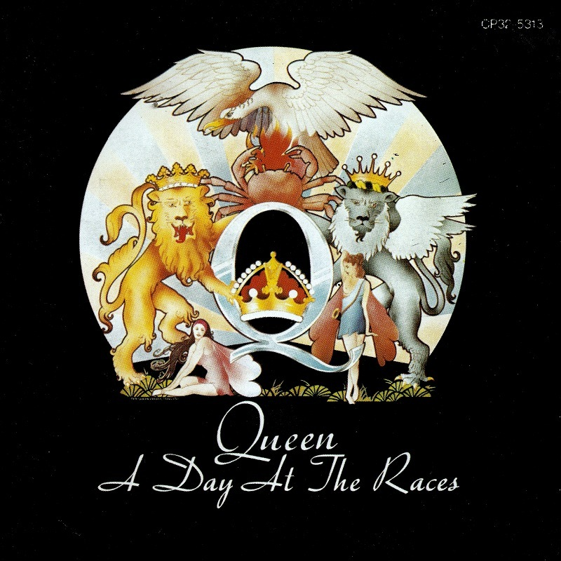 ★★QUEEN◆A DAY AT THE RACE クイーン 華麗なるレース 国内旧規格盤 即決 送料込★★_画像1