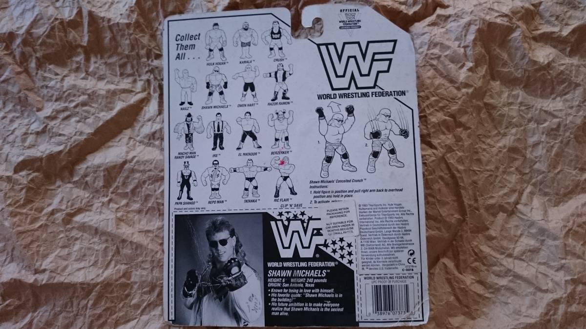 WWF ハズブロ社 ショーンマイケルズ hbk 1993年製 WWE_画像2