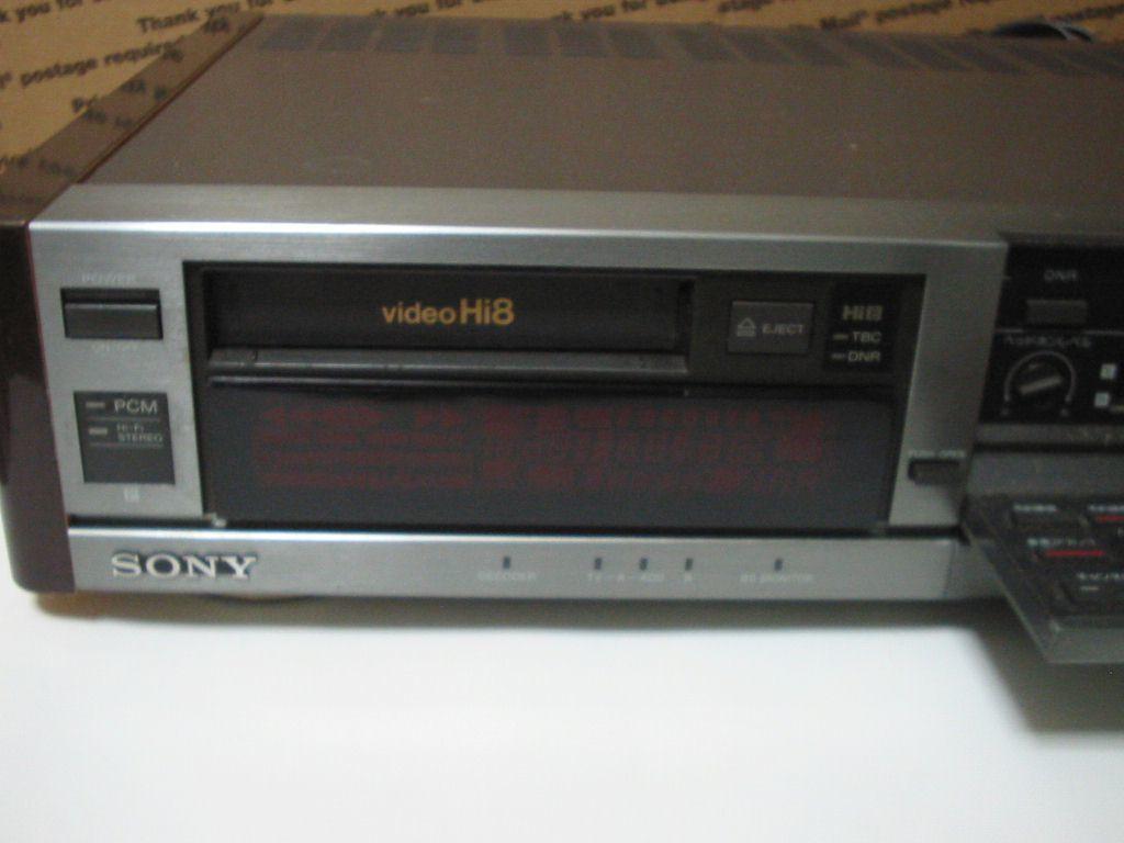 SONY Hi8デッキEV-BS3000ジャンク_画像2