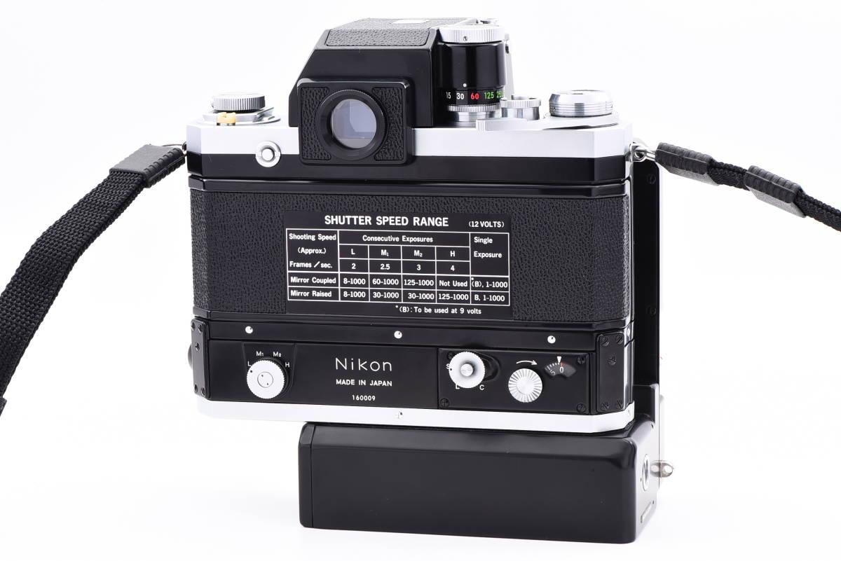 ◆美品 Nikon ニコン F フォトミック FTN シルバー 50mm f/1.4 レンズ F-36 モータードライブ セット #64A_画像2