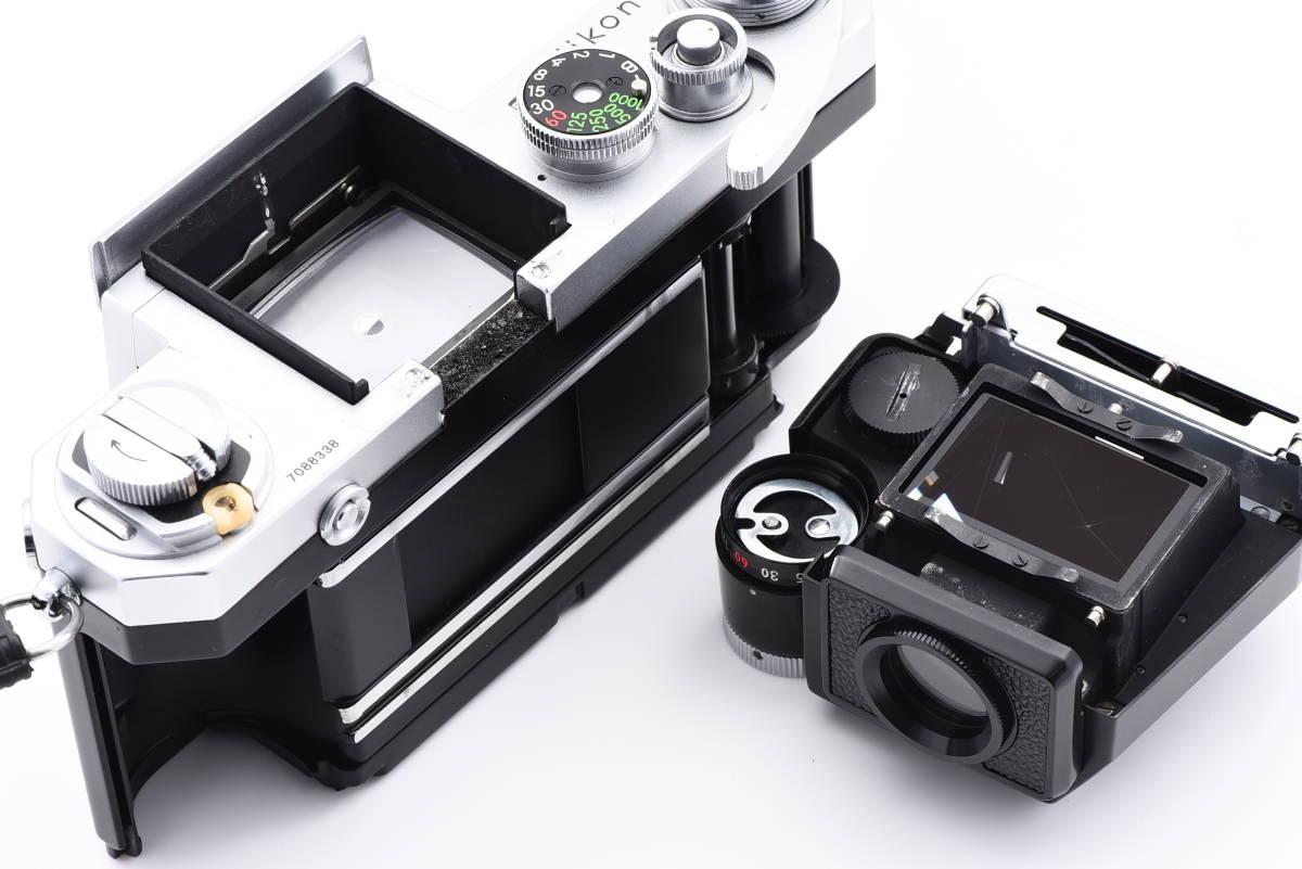◆美品 Nikon ニコン F フォトミック FTN シルバー 50mm f/1.4 レンズ F-36 モータードライブ セット #64A_画像6