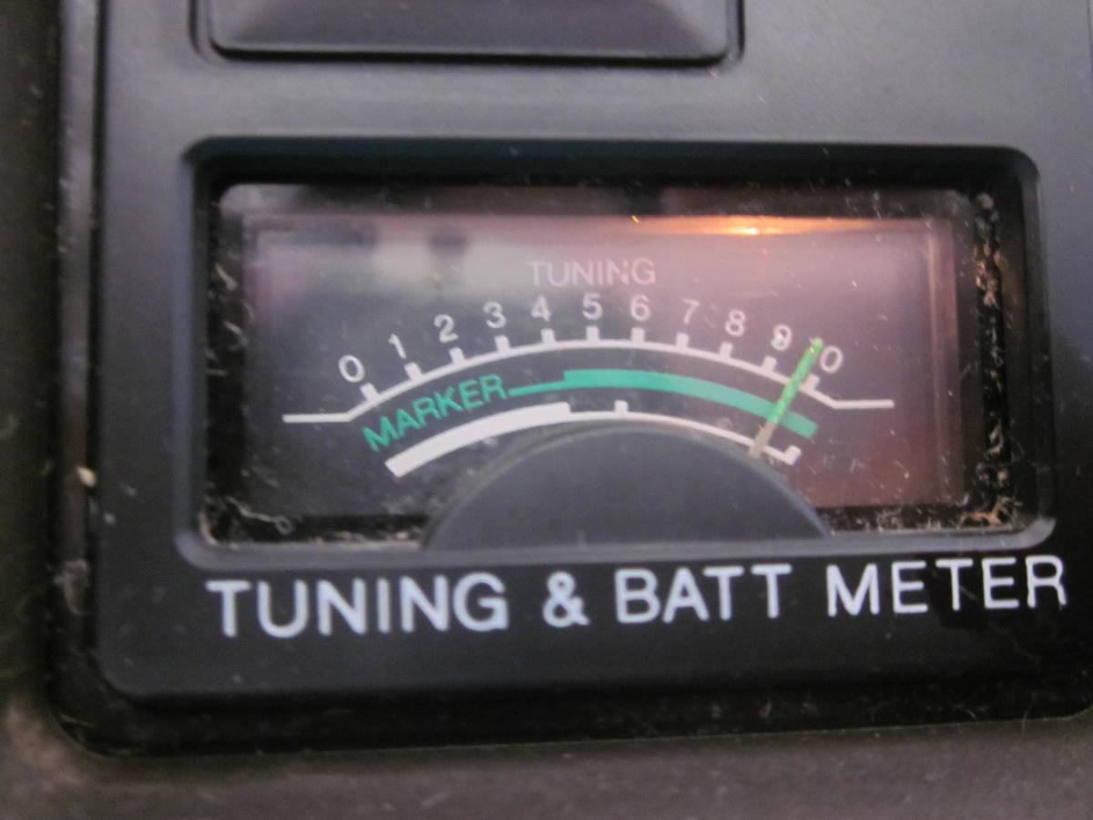 SONY ソニー FM/AMラジオ ICF-5900 スカイセンサー 純正ACアダプター付★FM/AM受信OK、ジャンク_画像6