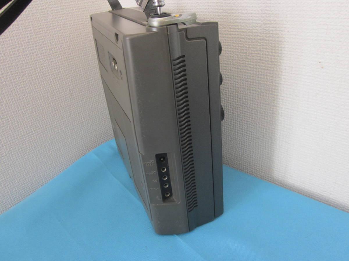 SONY ソニー FM/AMラジオ ICF-5900 スカイセンサー 純正ACアダプター付★FM/AM受信OK、ジャンク_画像9