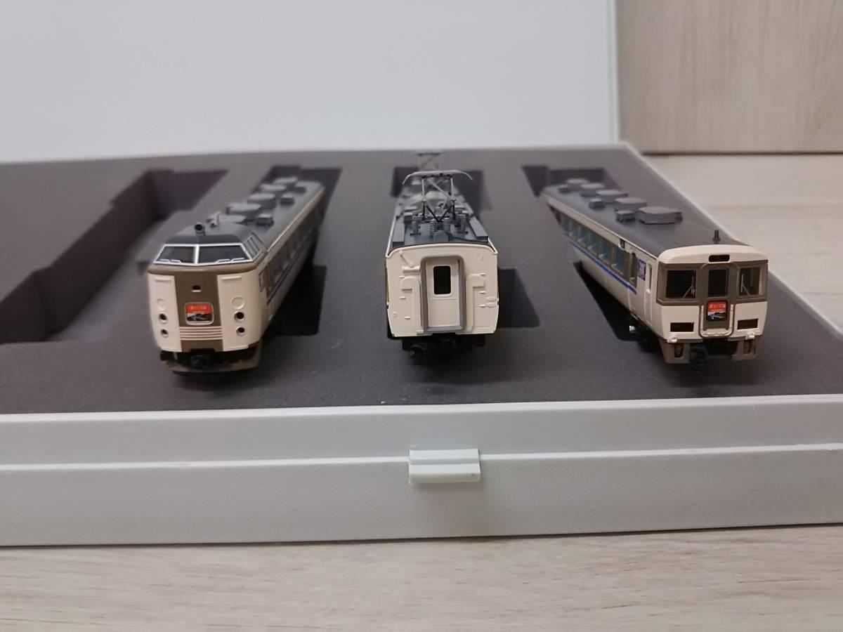 Nゲージ TOMIX 183系特急電車 (まいづる) セット 92281_画像7