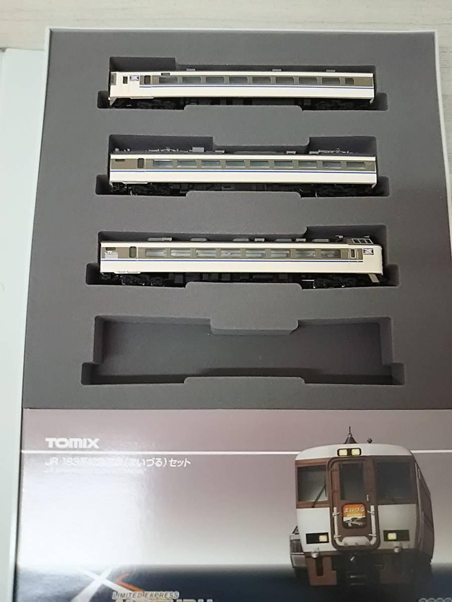 Nゲージ TOMIX 183系特急電車 (まいづる) セット 92281_画像4