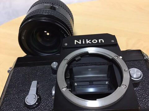 Nikon F ボディボディ (レンズはおまけです)_画像4