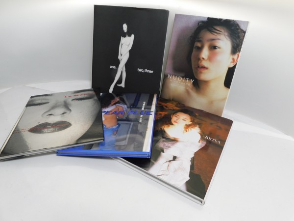 Hさ3N 有名女優ヘアヌード写真集5冊『NUDITY』菅野美穂 『PEAK BLUE』井上貴子 『one,tw
