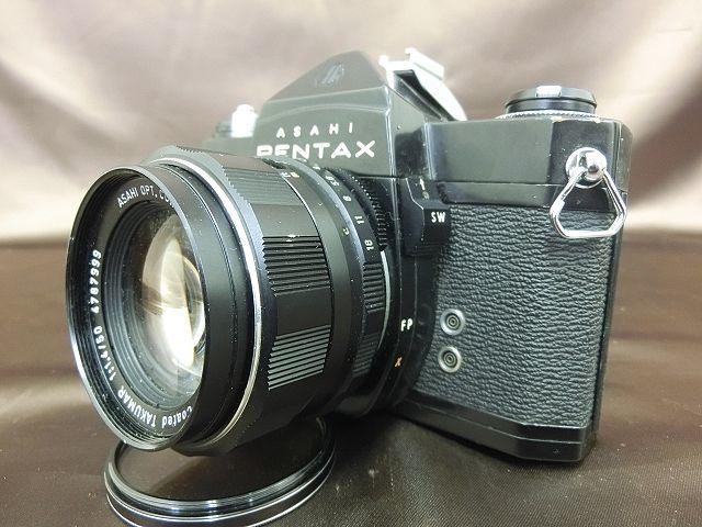 ①PENTAX SPOTMATIC SP ペンタックス カメラ Super-Takumar 1:1.4 / 50 Asahi レンズ_画像2