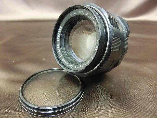 ①PENTAX SPOTMATIC SP ペンタックス カメラ Super-Takumar 1:1.4 / 50 Asahi レンズ_画像4