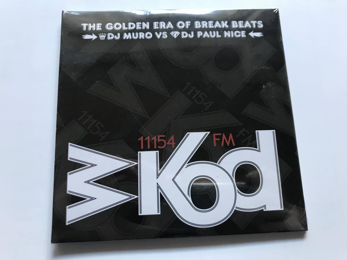新品 DJ MURO & K-PRINCE / WKOD 11154 FM THE NEW ERA OF BREAK BEATS -Remaster Edition- 2CD ムロ MIX CD_画像1