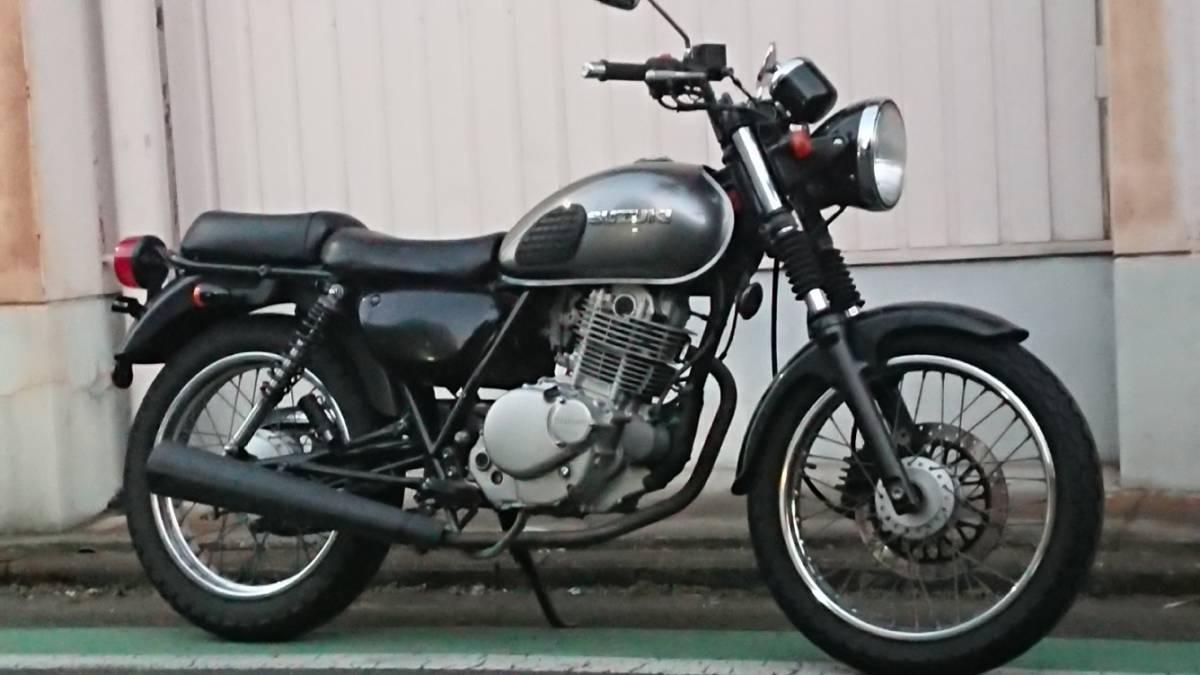 ★スズキ ST250 カスタムベースにどうぞ★