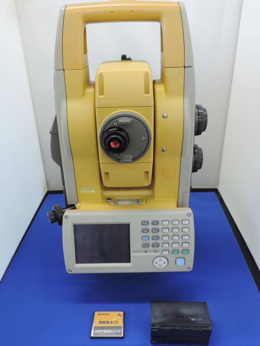 【トプコン】 トータルステーション GPT-9005AC ジャンク