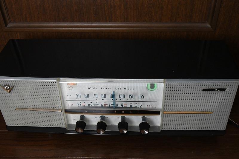 ナショナル トランスレス方式真空管ラジオ AM390 LED同調指示器つけました_画像3