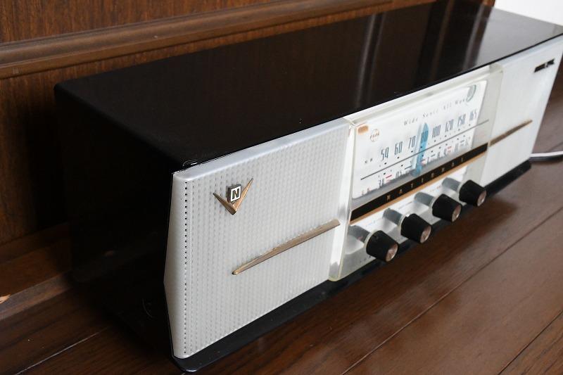 ナショナル トランスレス方式真空管ラジオ AM390 LED同調指示器つけました_画像4
