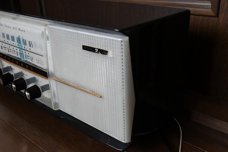ナショナル トランスレス方式真空管ラジオ AM390 LED同調指示器つけました_画像5