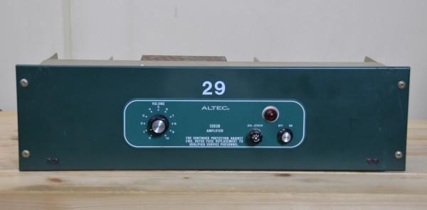 ALTEC 1593B 1台 モノラルアンプ  0109