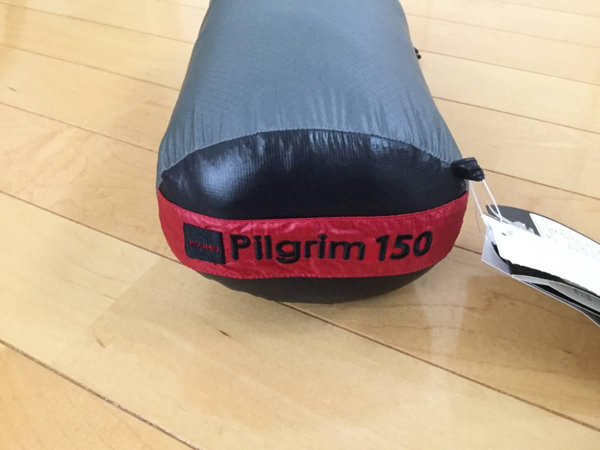 新品 未使用 イスカ(ISUKA) 寝袋 ピルグリム 150 ブラック