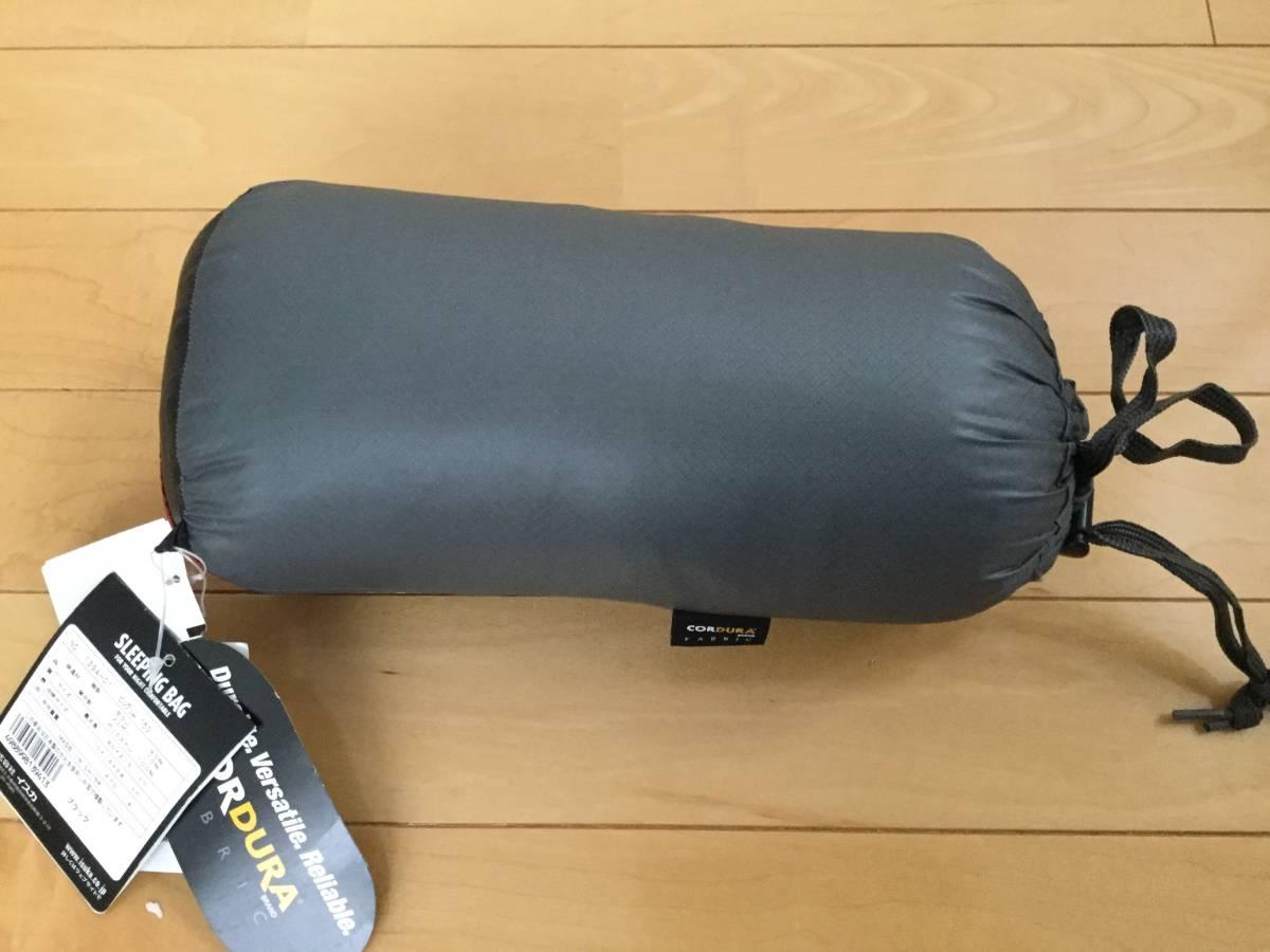 新品 未使用 イスカ(ISUKA) 寝袋 ピルグリム 150 ブラック _画像2