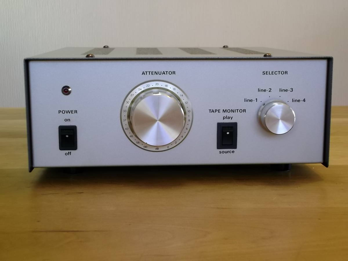 three   wireless line for pre-amplifier BA-905 (SRPP circuit