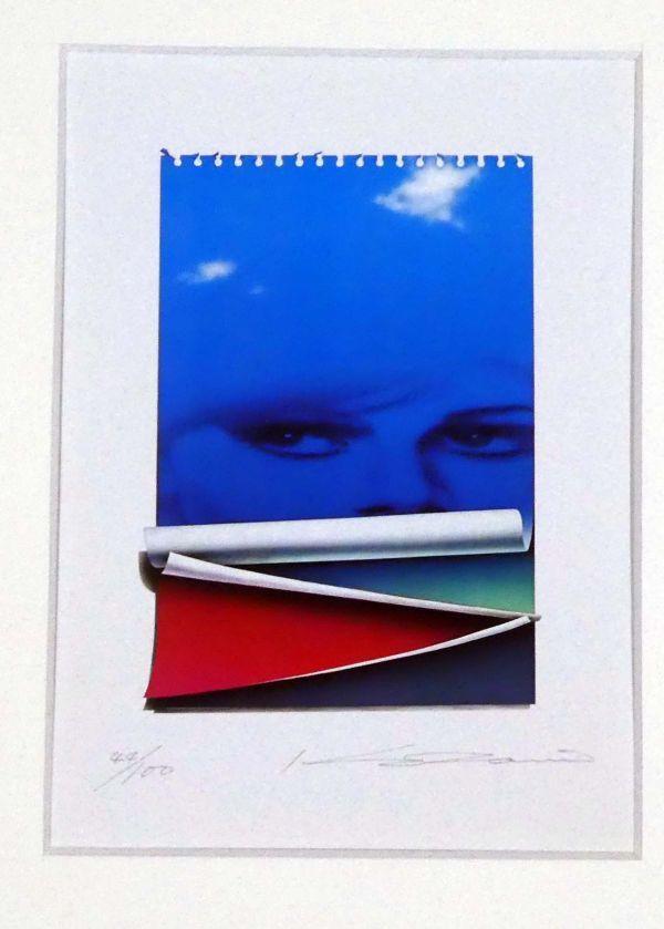 三尾公三 超写実主義 リトグラフ 直筆サイン、ナンバー入り 限定100部 フォーカスの