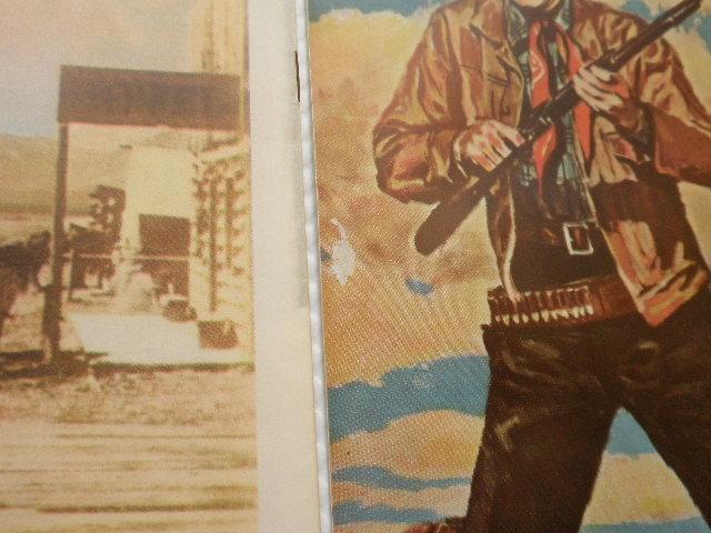 当時物 古い映画 パンフレット34冊 ジョンウェイン出演 他、西部劇名画_画像8