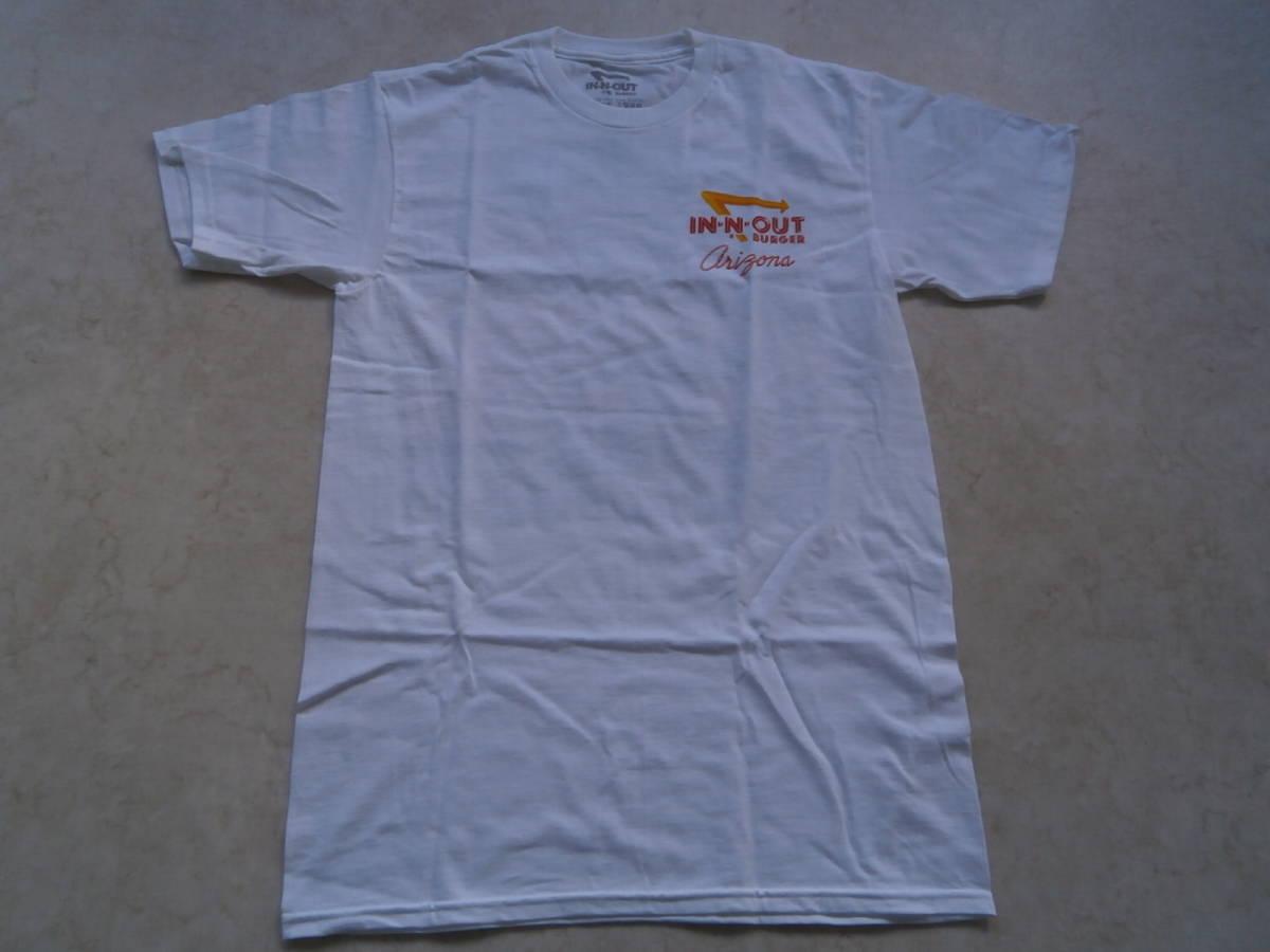 In-N-Out Burger インアンドアウトバーガー クラシックカー ビンテージ アメ車 ムーンアイズ 世田谷ベース Tシャツ アメリカ限定_画像3