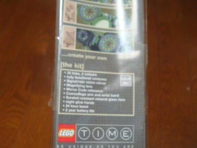 新品! 10年前の物 レゴ X-TRACKER LEGO WATCH 4369 LEGO TIME レゴタイム 腕時計_画像3
